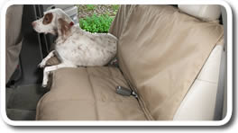 Custom Rear Seat Protectors Canine Covers CoverAll